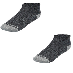 Obrázok ku produktu Dámske ponožky ZOOM Ankle Low Cut Charcoal/Silver, 3-balenie, tmavomodré