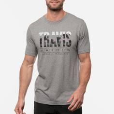 Obrázok ku produktu Pánske golfové tričko TravisMathew CUT THE FOAM HEATHER šedé