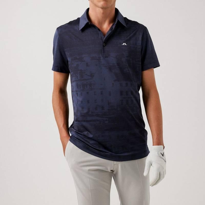 Obrázok ku produktu Pánska polokošeľa J.Lindeberg Rui Regular Fit Golf Polo tmavomodrá
