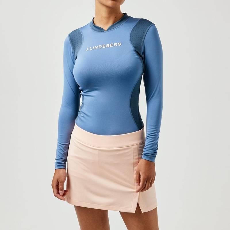 Obrázok ku produktu Dámske tričko J.Lindeberg Golf Zowie Soft Compression modré