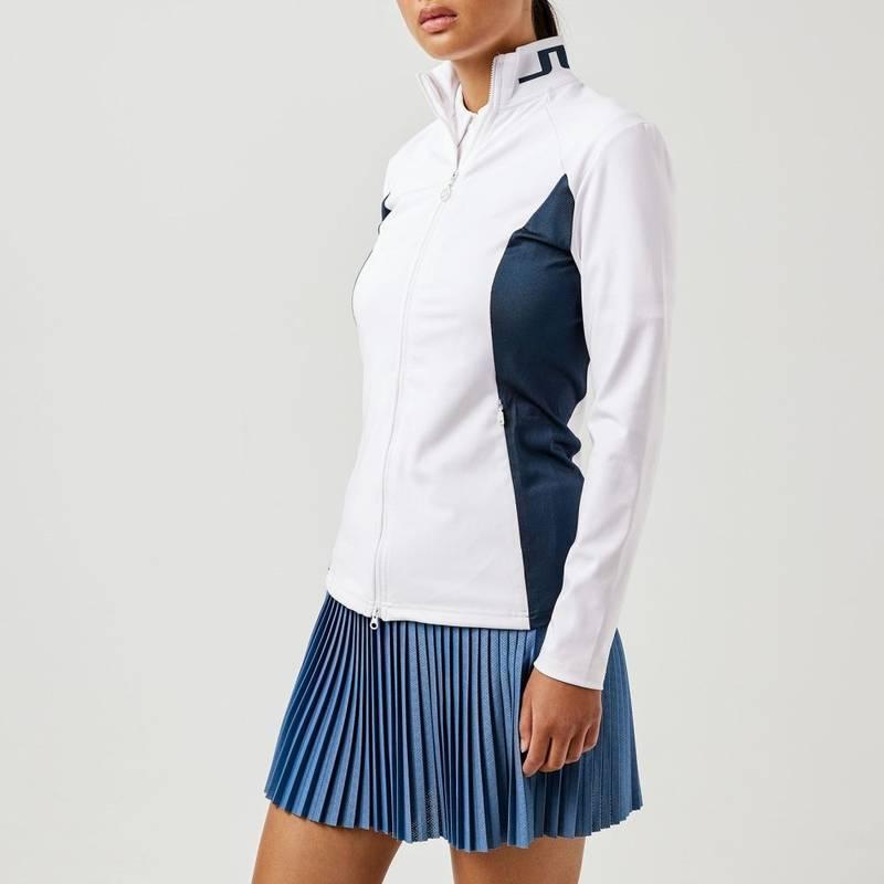 Obrázok ku produktu Dámska mikina J.Lindeberg Therese Golf biela