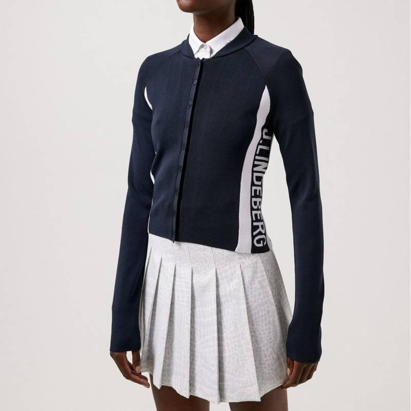 Obrázok ku produktu Dámsky sveter J.Lindeberg Enya Golf Cardigan modrý