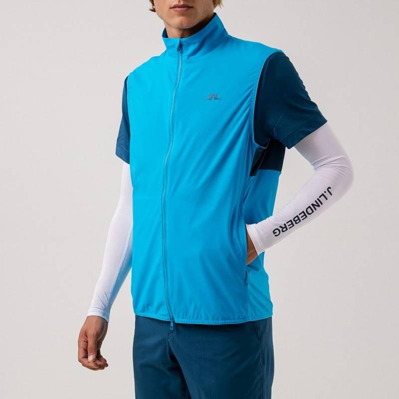 Obrázok ku produktu Pánska vesta J.Lindeberg Dale Light Golf modrá