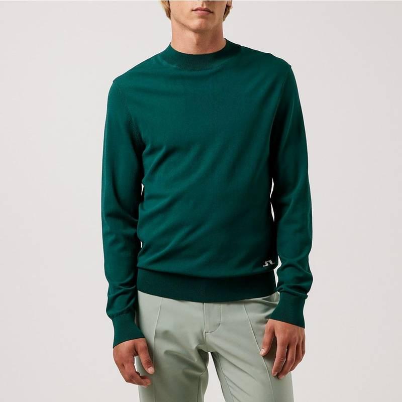 Obrázok ku produktu Pánsky sveter J.Lindeberg Lawrence Golf zelený