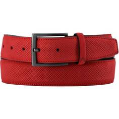 Obrázok ku produktu Pánsky opasok Alberto Golf Leather červený