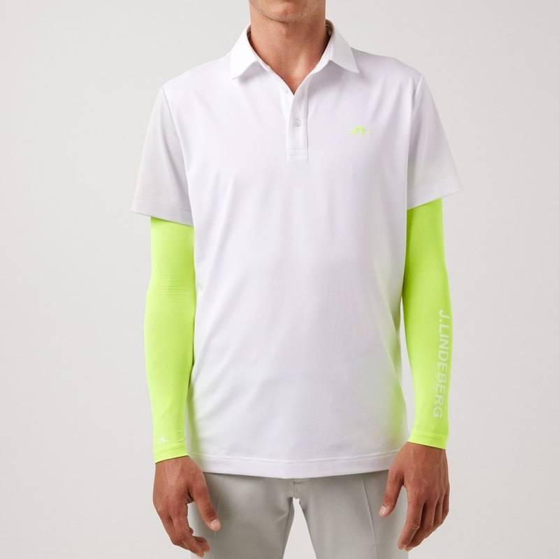 Obrázok ku produktu Pánska polokošeľa J.Lindeberg Simon Regular Fit Golf Polo biela