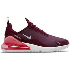 Obrázok ku produktu Unisex golfové topánky Nike Golf Air Max 270 G cviklovo-červené