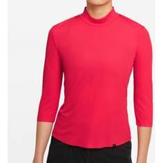 Obrázok ku produktu Dámske termo tričko Nike Golf DF UV ACE MOCK červené