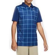 Obrázok ku produktu Juniorská polokošeľa Nike Golf Boys DRY POLO GRID PRT modrá
