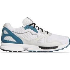 Obrázok ku produktu Unisex golfové topánky ADICROSS ZX PRIMEBLUE SPIKELESS biele/modré doplnky