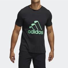 Obrázok ku produktu Pánske tričko adidas golf CLUB T-SHIRT čierne