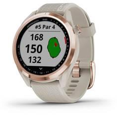 Obrázok ku produktu Golfové GPS hodinky Garmin Approach S42 Gold/Light Sand