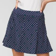 Obrázok ku produktu Dámska sukňa Ralph Lauren RLX Printed tmavomodrá s ananásmi