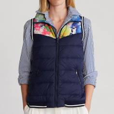 Obrázok ku produktu Dámska vesta Ralph Lauren Polo RVRSBLE INSULATED tmavomodrá