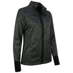 Obrázok ku produktu Dámska mikina Callaway Golf Dual Action Heathered Fleece čierna