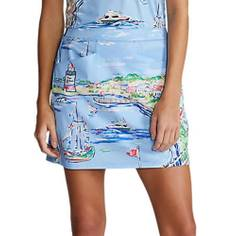 Obrázok ku produktu Dámska sukňa Ralph Lauren RLX Printed AIM modrá s potlačou