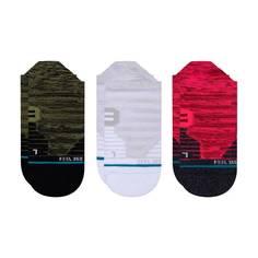 Obrázok ku produktu Unisex kotníkové ponožky STANCE MELANGE TAB 3-balenie červené/šedé/zelené