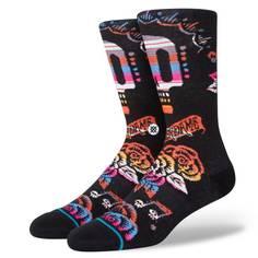 Obrázok ku produktu Unisex vysoké ponožky STANCE REMEMBER ME čierne s grafikou