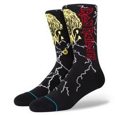 Obrázok ku produktu Unisex vysoké ponožky STANCE IRON MAIDEN NIGHT CITY čierne s grafikou