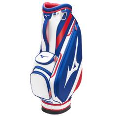 Obrázok ku produktu Golfový bag na vozík - bag Mizuno Tour Cart 5 Way Blue/White/Red