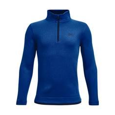 Obrázok ku produktu Juniorský sveter Under Armour golf Sweaterfleece 1 ZIP modrý