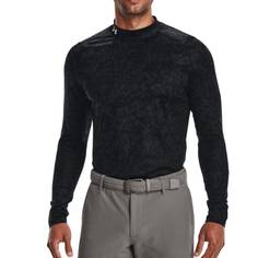 Obrázok ku produktu Pánske tričko Under Armour golf Cold Gear AOP Mock čierne