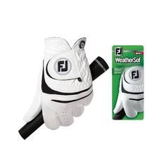 Obrázok ku produktu Pánska golfová rukavica Footjoy  WeatherSof MRH pravácka biela