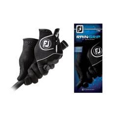 Obrázok ku produktu Pánska golfová rukavica Footjoy  Rain Grip MRH čierna