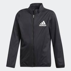 Obrázok ku produktu Juniorská bunda adidas golf Boys Rain Jacket čierna