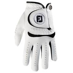 Obrázok ku produktu Juniorská golfová rukavica Footjoy JUNIOR white/black na ľavú ruku