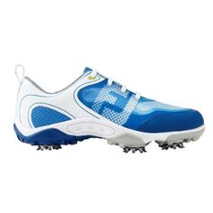 Obrázok ku produktu Juniorské golfové topánky Footjoy Juniors Freestyle wht/blue