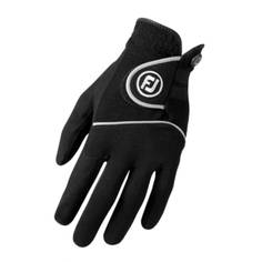 Obrázok ku produktu Pánska golfová rukavica Footjoy RAINGRIP MLH ľavá čierna, do dažďa