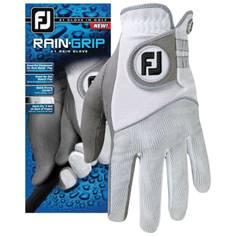 Obrázok ku produktu Dámska golfová rukavica Footjoy  RainGrip dámska ľavá  grey/white, do dažda