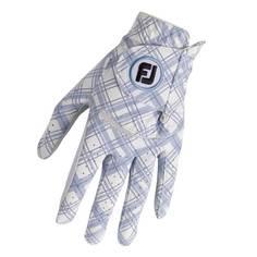 Obrázok ku produktu Dámska golfová rukavica Footjoy Spectrum  Blue Tartan -  Ľavá