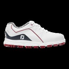 Obrázok ku produktu Juniorské golfové topánky Footjoy PRO SL wht/nvy/red