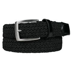 Obrázok ku produktu Dámsky opasok Alberto Golf Basic Braided čierny