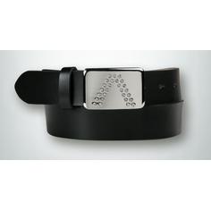 Obrázok ku produktu Opasok Alberto dámsky GURTEL logo belt čierny
