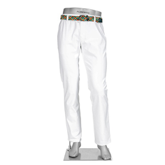 Obrázok ku produktu Nohavice pánske Alberto ROOKIE - 3xDRY Cooler biele  ( regular slim fit )