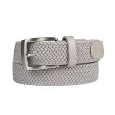 Obrázok ku produktu Opasok Alberto GURTEL Narrow Braided light grey