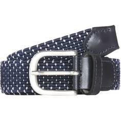 Obrázok ku produktu Dámsky opasok Alberto Golf strieborno-modrý