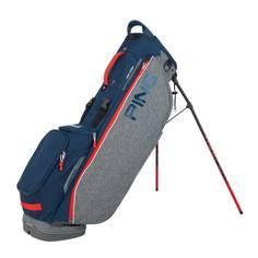 Obrázok ku produktu Bag Ping Stand HooferLite Double Strap Heathered Grey/Navy/Scarlet