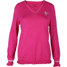 Obrázok ku produktu Sveter Girls Golf dámsky Basic Ruffle, pink