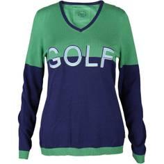 Obrázok ku produktu Sveter GG dámsky v-neck knitted giant golf