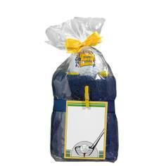 Obrázok ku produktu Darček. balenie uteráka s loptičkou  Happy birthday