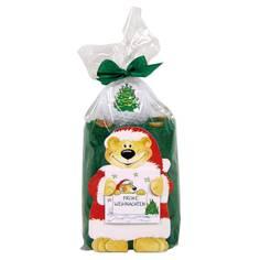 Obrázok ku produktu Darčekové balenie uteráka, loptičky a tíčiek s výšivkou a potlačou Vianočný stromček