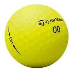 Obrázok ku produktu Golfové loptičky TM Project (s) 18, žlté, 3-balenie