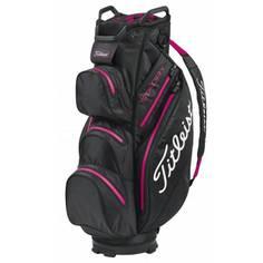 Obrázok ku produktu Golfový bag Titleist Cart StaDry Black/Magenta, do dažďa