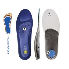 Obrázok ku produktu Vložky do obuvi Sidas 3FEET COMFORT LOW ARCH - pre nízku klenbu