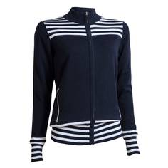Obrázok ku produktu Sveter BackTee dámsky Ladies Striped Windbreaker