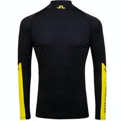 Obrázok ku produktu Tričko J.Lindeberg pánske Damien-Soft Compression blk/yellow